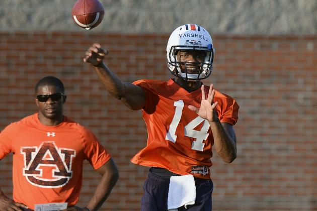 Analyzing Auburn QB Finalists Nick Marshall and Jeremy Johnson