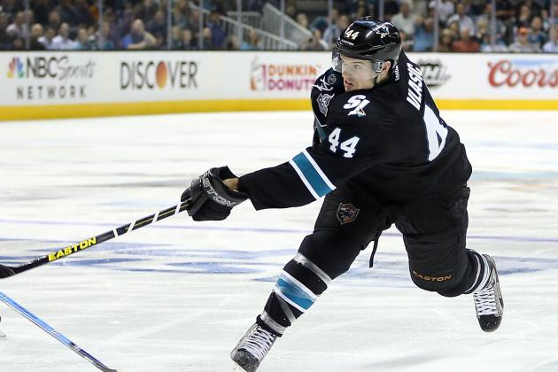 Sharks' Vlasic Flies 'Under the Radar'