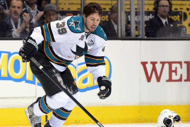 Couture Growing into Leadership Role on the Sharks