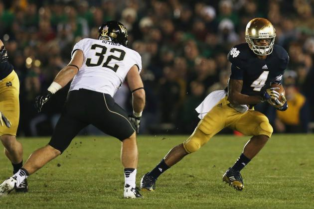 Predicting Who Will Lead the Notre Dame Fighting Irish in Rushing in 2013