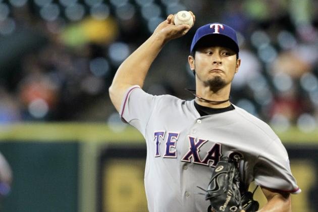 Watch: Darvish Strikeout 15 Astros