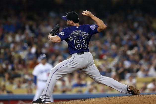 Rafael Betancourt Nearing Return to Rockies