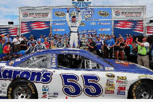 Brian Vickers' 2-Year Deal No Easy Feat for MWR