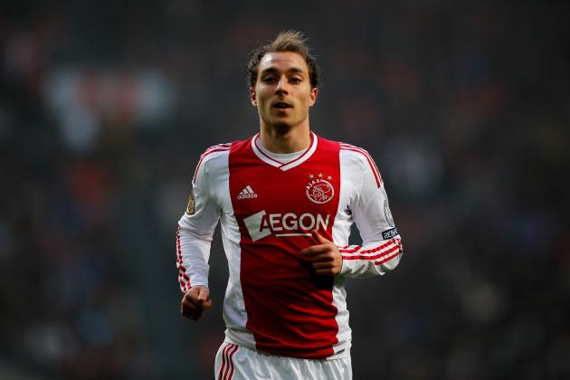 Tottenham Transfer Rumors: Ajax's Eriksen a Perfect Fit for White Hart Lane