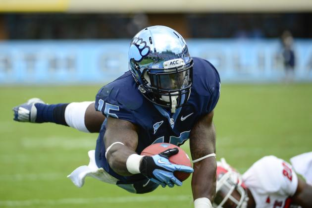 UNC Running Backs Adapting to Life After Giovani Bernard