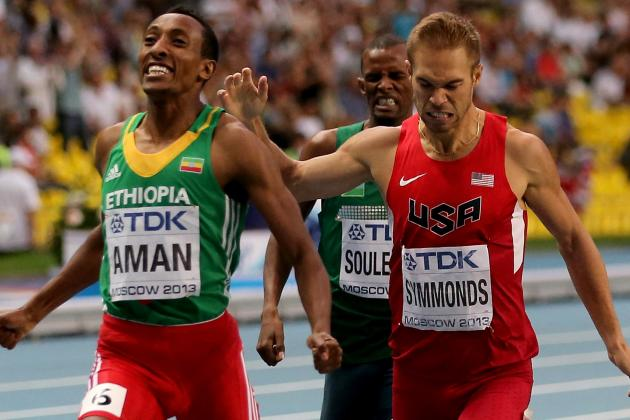 Nick Symmonds Wins Silver in 800 Meters, First Major International Medal