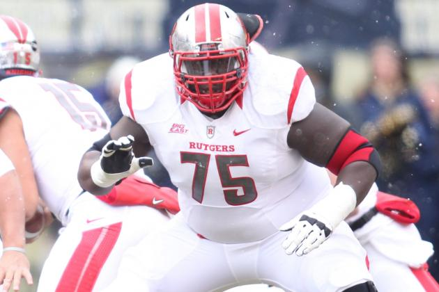 OL Lowery Ready to Rebound with Rutgers