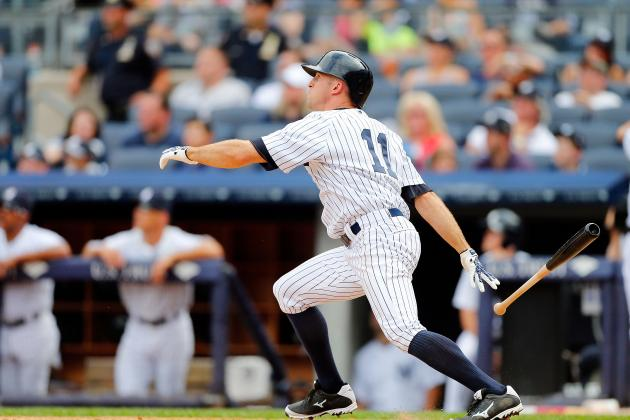 Brett Gardner Sitting vs. LA