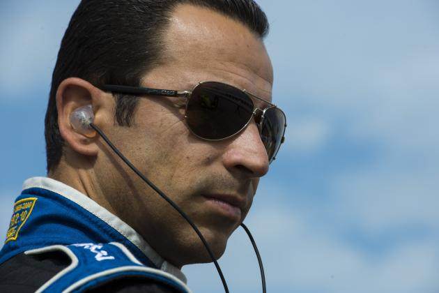 Castroneves Still Recovering from 'Violent Impact' in Brazil