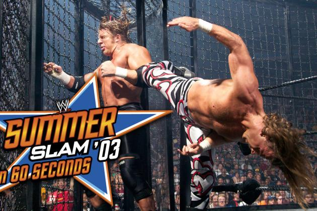WWE Classic of the Week: Remembering Elimination Chamber Match at SummerSlam '03