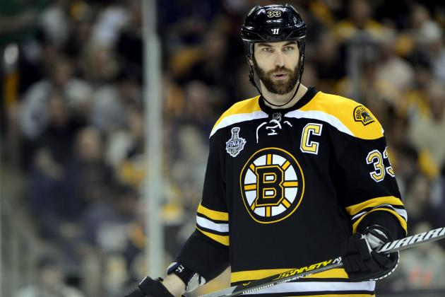 Zdeno Chara Shows Class Once Again by Attending Marian Hossa's Stanley Cup Party