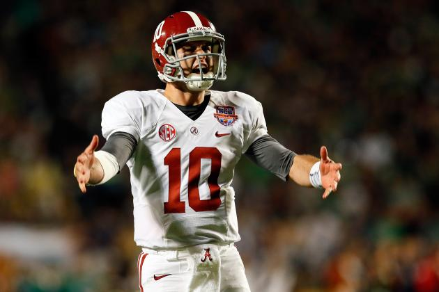 Alabama Football: A.J. McCarron's Play Will Determine If Bama Is Good or Great