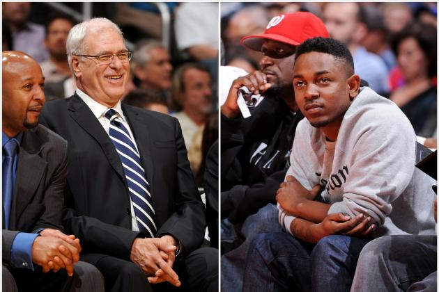 Phil Jackson Responds to Rapper Kendrick Lamar's Verse on 'Control'