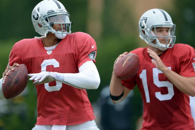 Debate: Which Raiders QB Will Start the Most Games This Season?
