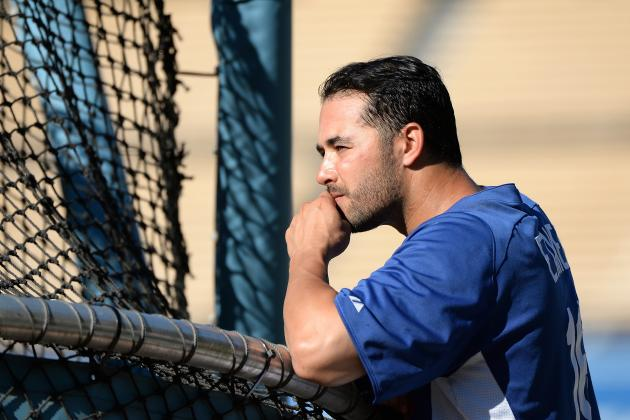 Andre Ethier Scratched vs. Mets