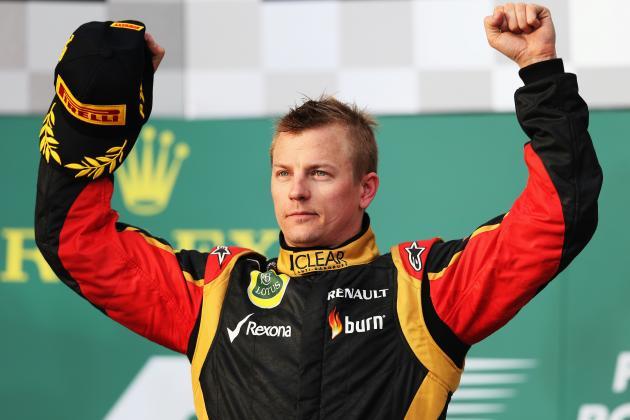 Midseason Report: Grading Kimi Raikkonen