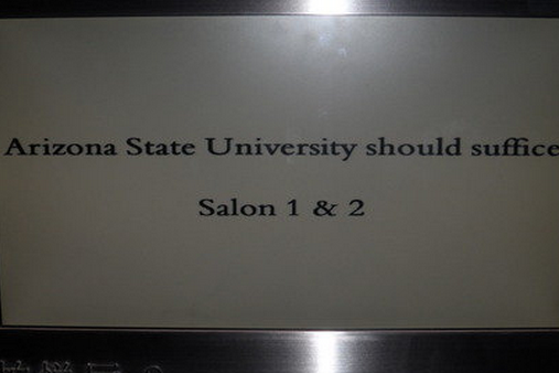 Amusing Sign Greets Arizona State Upon Arriving in Shanghai