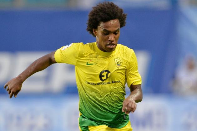 Rodgers Plans £30m Bid for Anzhi Makhachkala Midfielder Willian