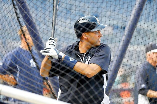 Jeter Takes Live BP