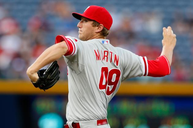 Martin Shows Command Issues Again in Phils' Loss