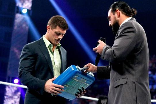WWE SummerSlam 2013: Rhodes vs. Sandow Must Be for Money in the Bank Briefcase