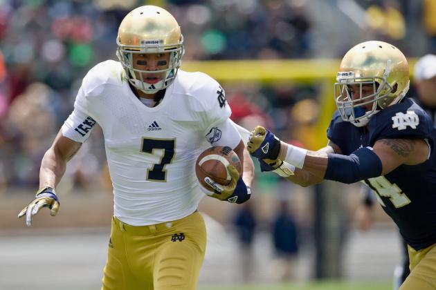 Notre Dame Football: Projections for Top Passer, Rusher and Receiver in 2013