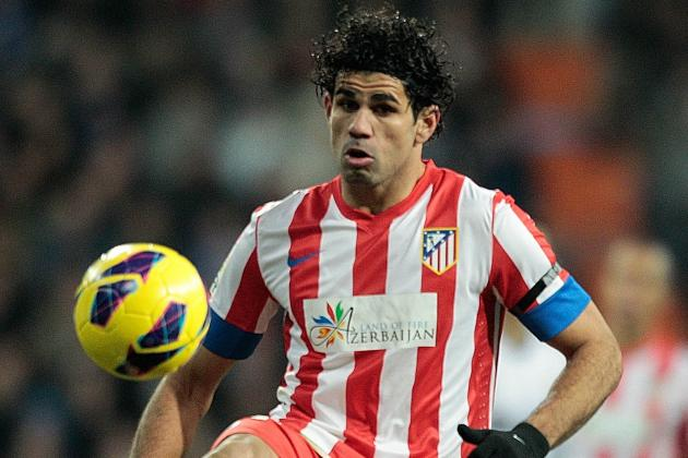 Liverpool's Diego Costa Hopes Ended as Striker Signs New Atletico Madrid Deal