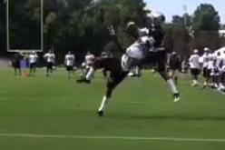 Video: Josh Norman Makes Ridiculous One-Handed Interception