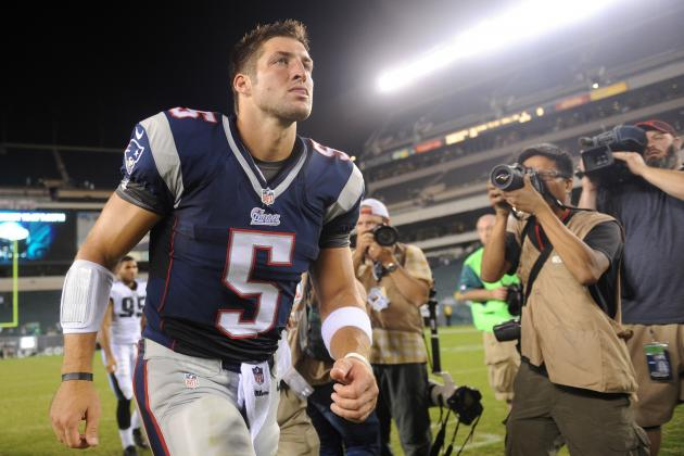 Tebow Loves Joint Practices Alongside 'The Great One'