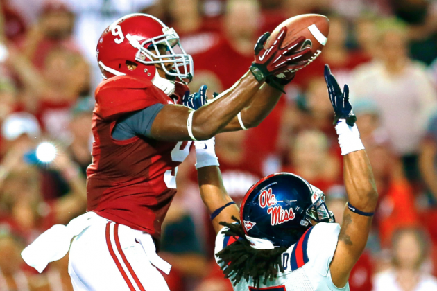Amari Cooper Injury Gives Alabama's Young WRs Chance to Step Up in Camp