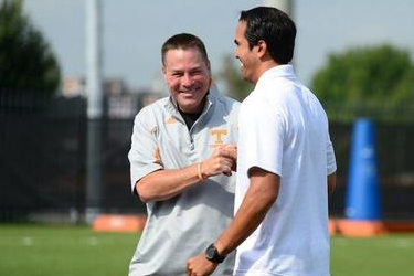 Photos: Erik Spoelstra at Vols Practice for 'Championship Wednesday'