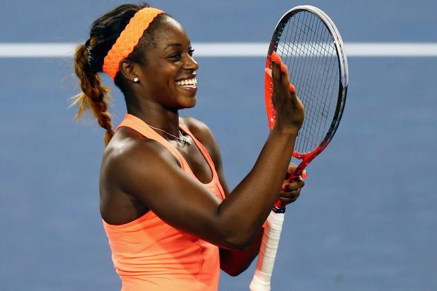 Sloane Stephens Further Proves Elite Talent in Comeback vs. Maria Sharapova
