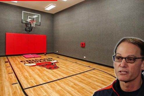 Bears Marc Trestman Buys $3 Million House W/Indoor Bulls Court