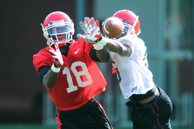 Young Receivers Working Way into Bulldogs' Lineup