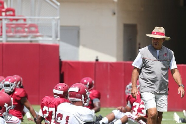 Alabama Football: Inside Crimson Tide Morning Practice