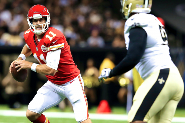 NFL 2013 Fantasy Football Sleeping Seven: Alex Smith Unchained Under Andy Reid