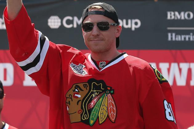 Hossa Dines in the Stanley Cup