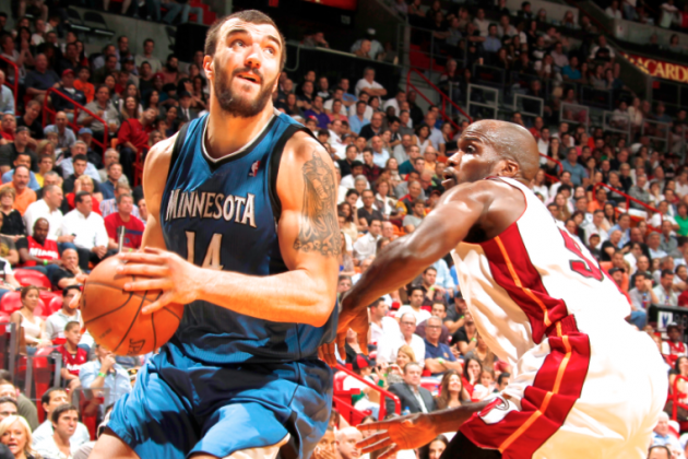 Nikola Pekovic and Timberwolves Officially Agree on 5-Year, $60 Million Contract