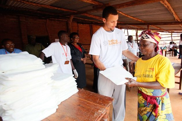 Warriors PG Stephen Curry Distributed Life-Saving Mosquito Nets in Tanzania