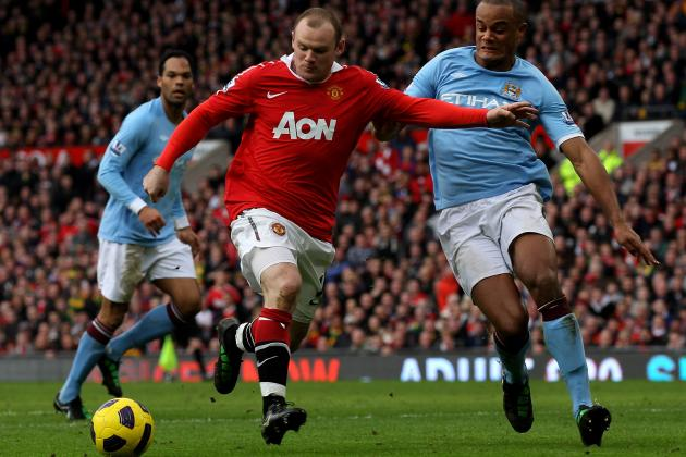 Manchester City V Manchester United 15 Games to Define the Rivalry‏