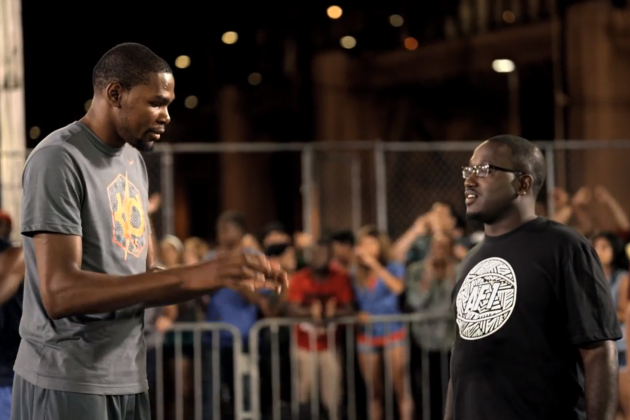 Kevin Durant Earns the Streetball Nickname 'Kevin' in This Latest Nike Ad