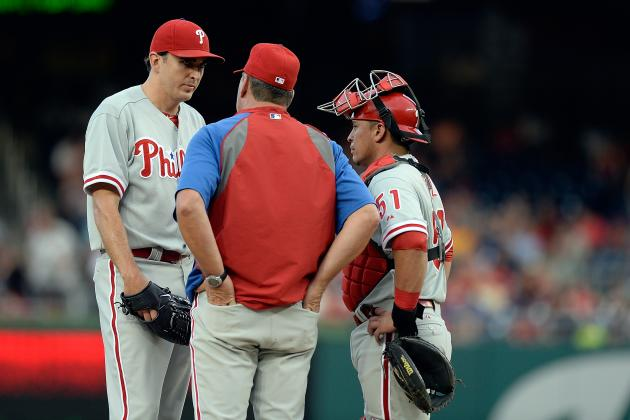 Lannan Exits with Apparent Injury