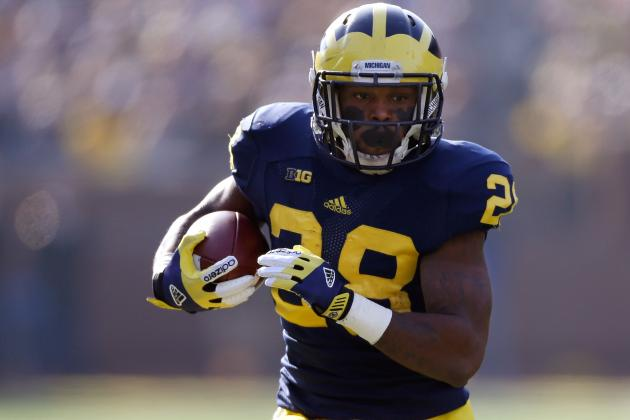 Michigan Football: Finding Consistent Run Game Key to Wolverines' 2013 Success