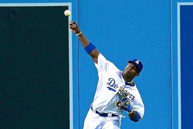 Yasiel Puig Video: Watch Dodgers Superstar Uncork Bullet to Nail Marlon Byrd