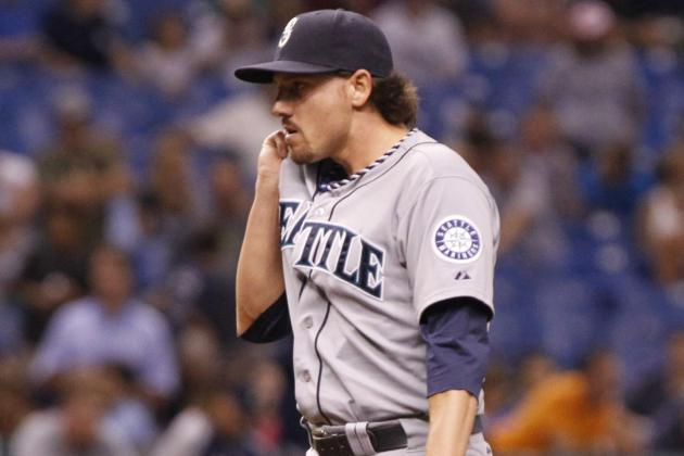 Mariners Lose on Danny Farquhar's First Blown Save in Ninth
