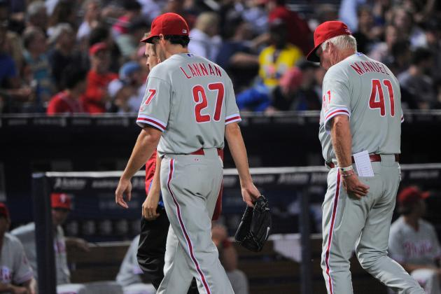 John Lannan Leaves Start with Knee Injury, Season May Be over