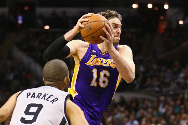 Can Pau Gasol Become a Top-10 Player Again for LA Lakers in 2013-14?