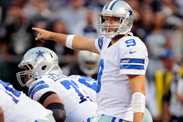 Audible: Cowboys QB Tony Romo Has More Latitude to Change Call at Line