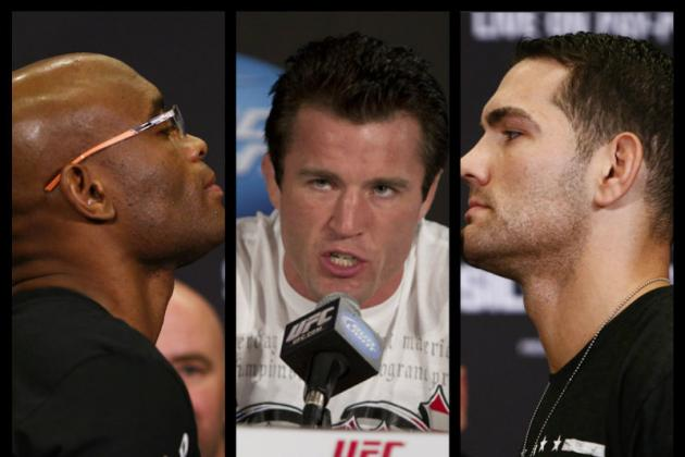Chael Sonnen Applying for License to Referee Chris Weidman vs. Anderson Silva 2