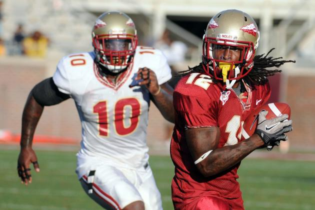 Florida State WR Jarred 'Scooter' Haggins Out for Season with Knee Injury